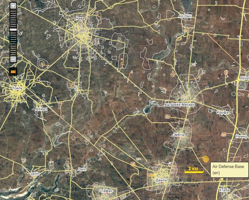 2016.09.02 Провинция Дараа, САА атакует позиции ССА в Ибте, на военной базе