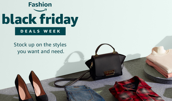 93dac11e585e Скидки на определенные модели детской, женской и мужской одежды, обуви,  аксессуаров, часов и сумок к Черной Пятнице  Amazon Black Friday Fashion  Deals Week