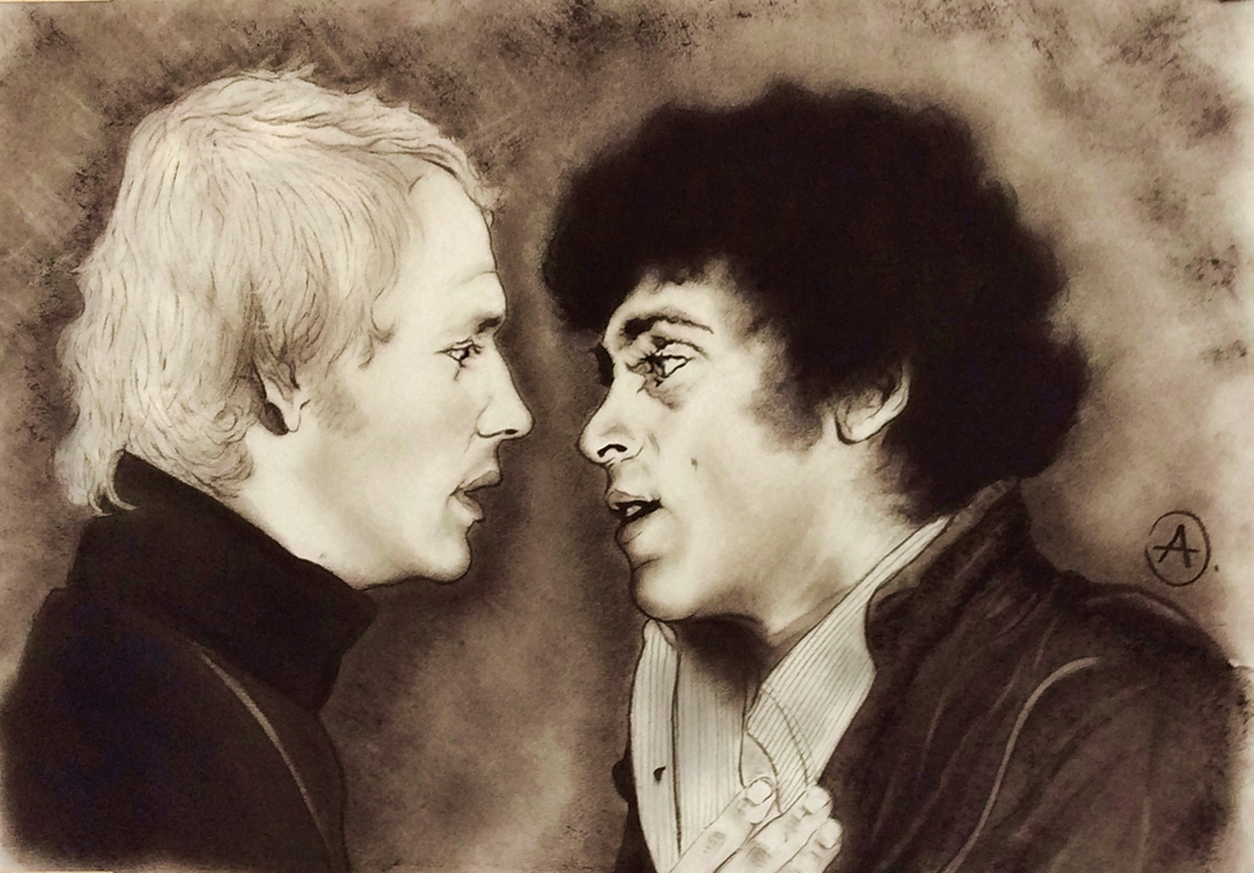 Fanart: Starsky and Hutch so close