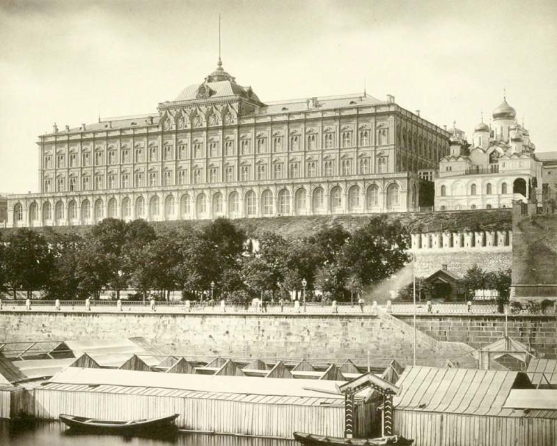 Большой Кремлевский дворец. 1884 г. Главархив Москвы