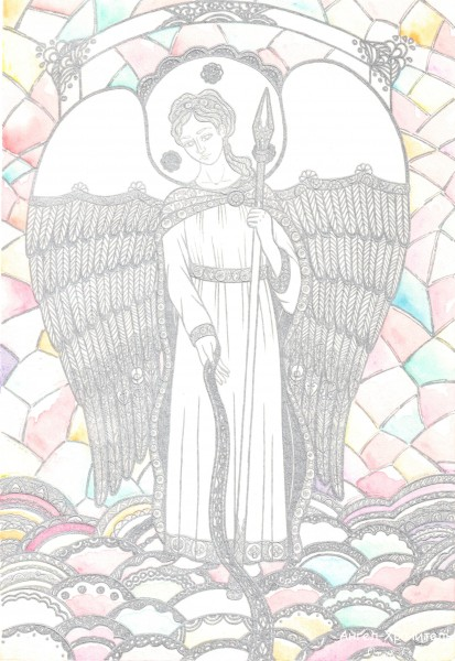 Ангел-Хранитель цвет sign