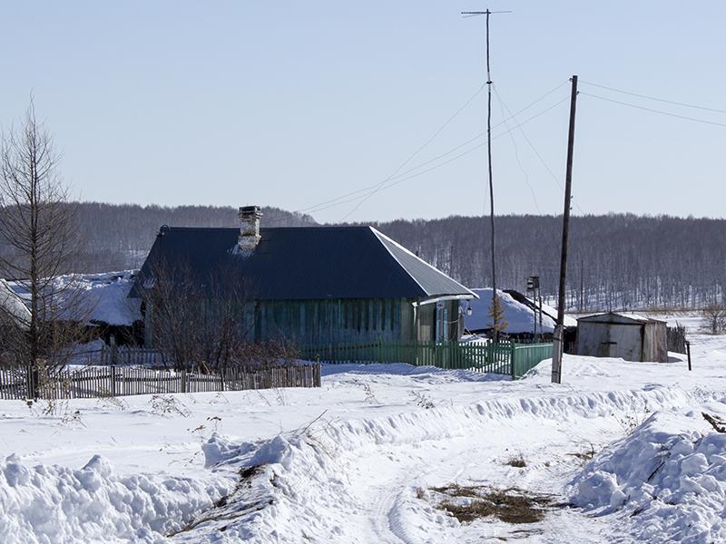Дом сгорел в марте 2013