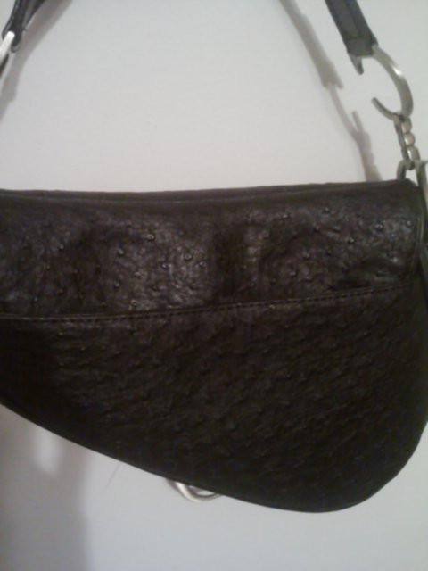 photos,christian dior saddle bad leather. replica