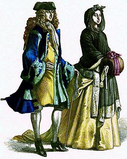 (Vest+Shoes), first 3rd 18C, France, nobleman