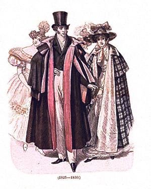 Dross Coat (1825 - 1830), Upper Class