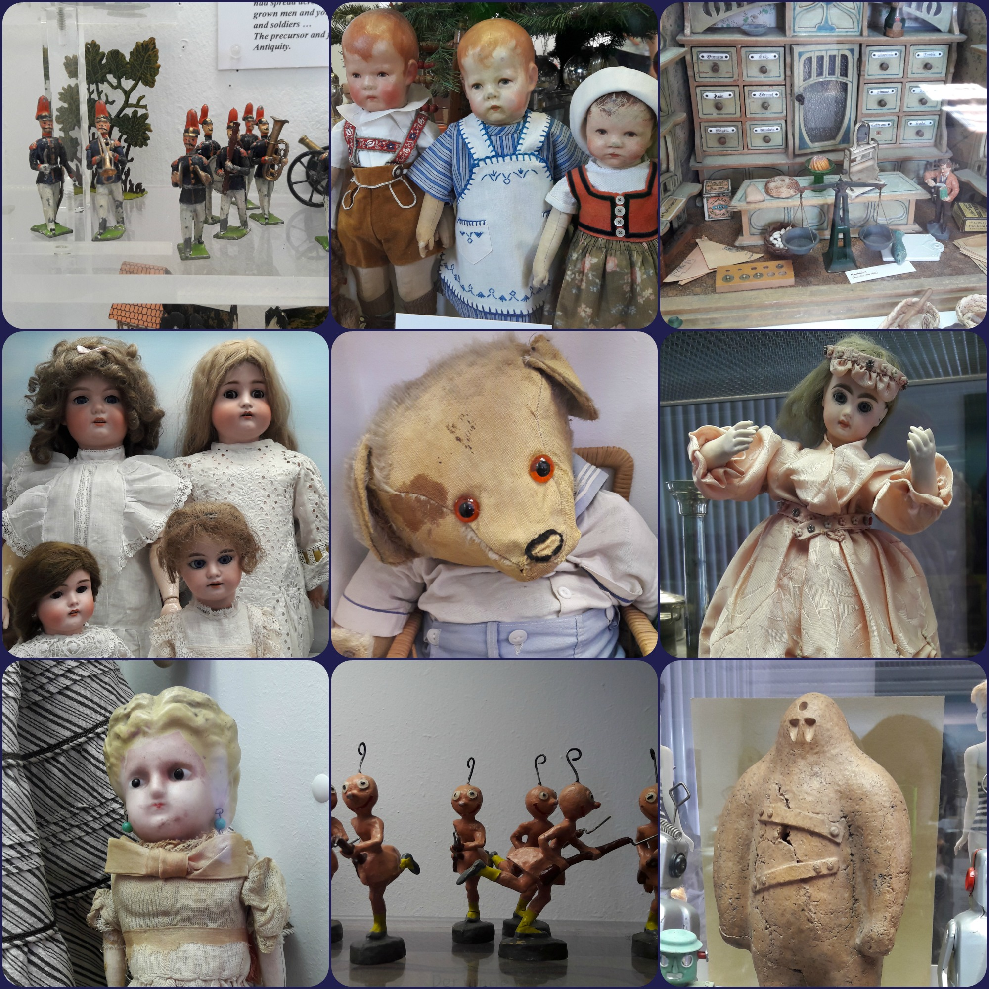 toy museum Collage