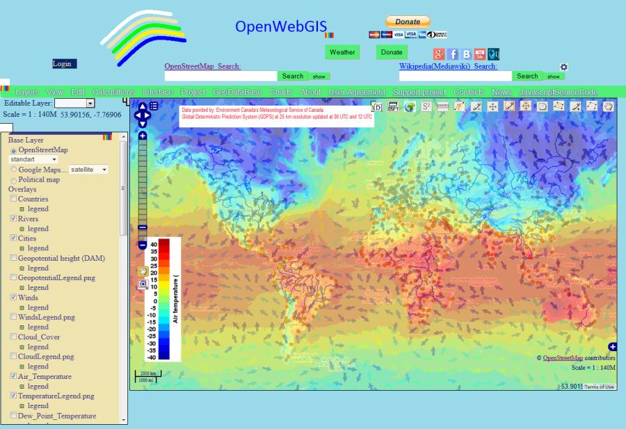 OpenWebGIS_meteo