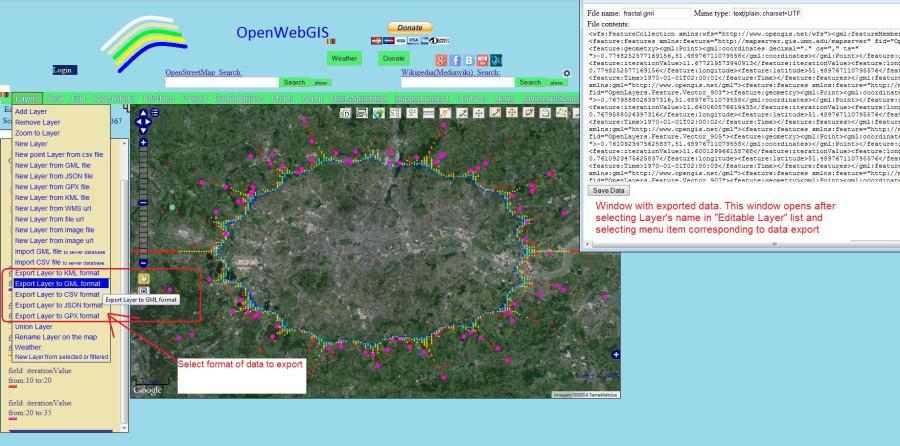 OpenWebGIS_2d3dFractal1