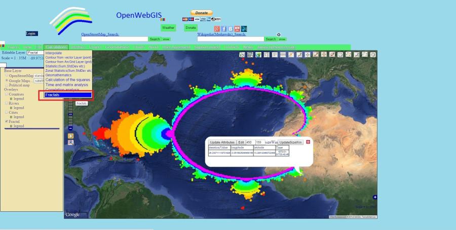 Fractal_OpenWebGIS_Mandelbrot_Set