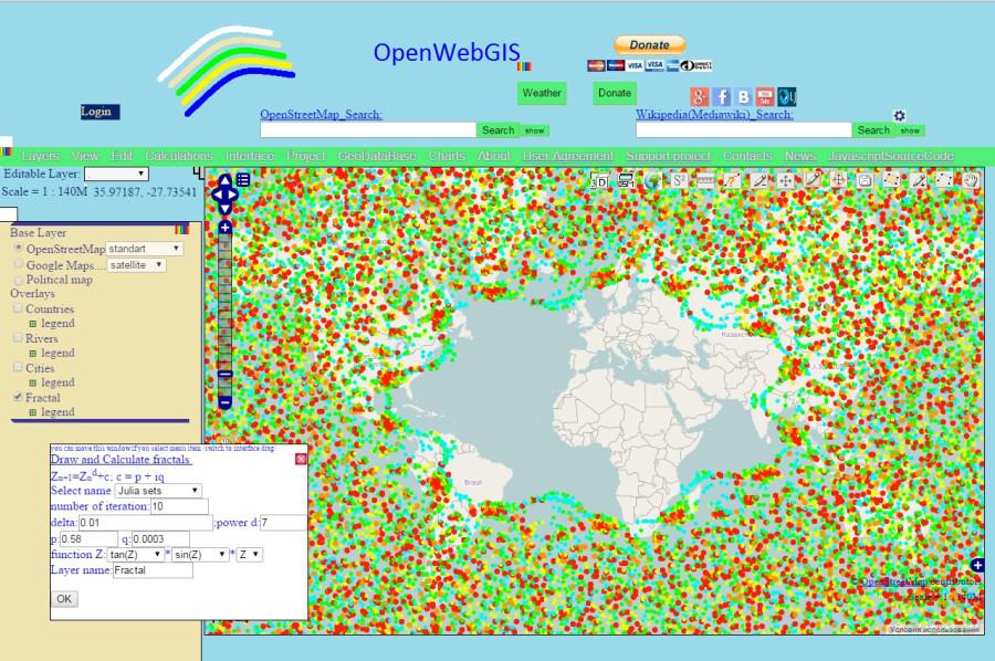 Fractal_OpenWebGIS_Julia_Set_tan_sin_z