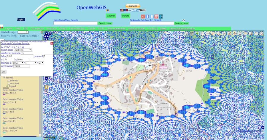 Fractal_OpenWebGIS_Julia_Set_sin_z