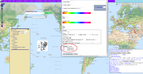 Satellite Tracking in OpenWebGIS: openwebgis — LiveJournal