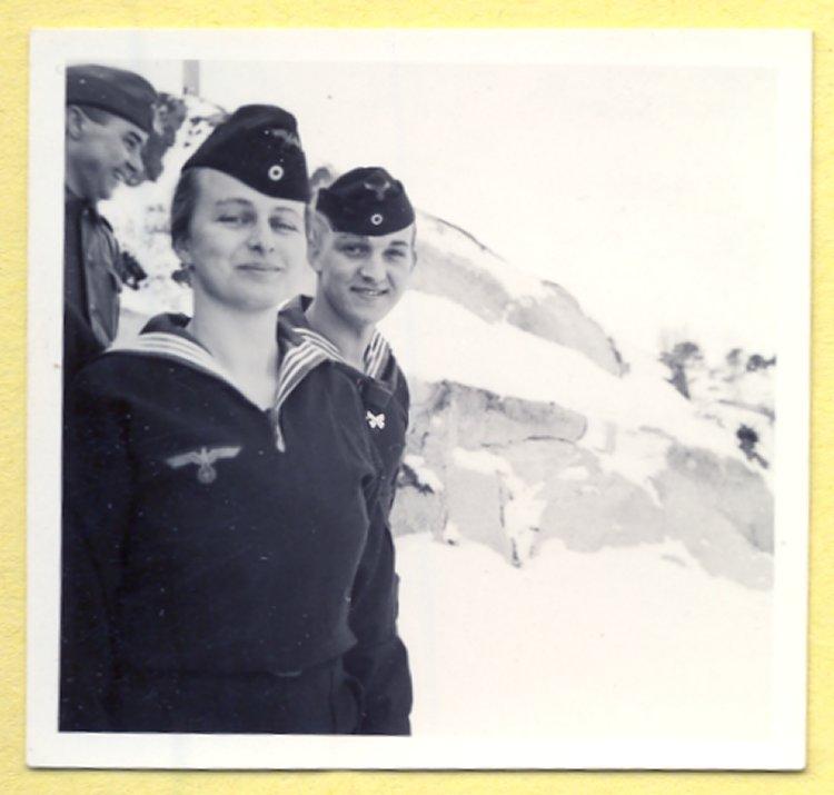 девушка морячка