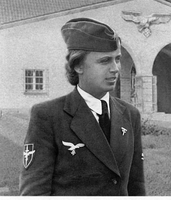 Hilde von Lobeltitz Wartime Photo