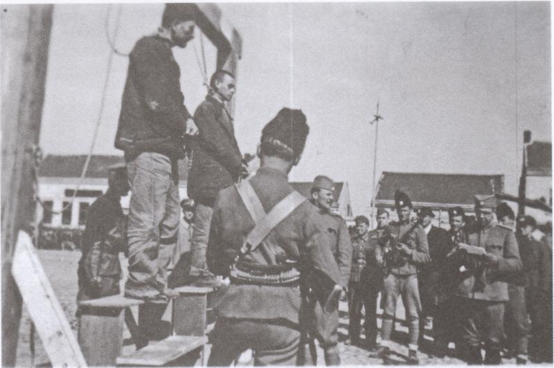 Pogubljenje komunista na Ubu 27.3.1942.