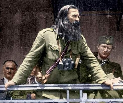 Воjвода Никола Калабић, Бања код Аранђеловца, 1944