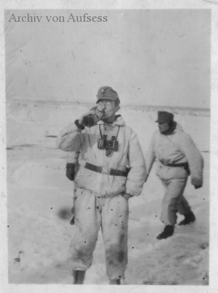 Bundesmann-командир 3-й батареи 189 бригады штурмовых орудий