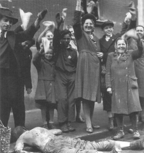 Расправа чехов над немцами в 1945-м. Нет ничего страшнее развязавшегося холопа _1945_