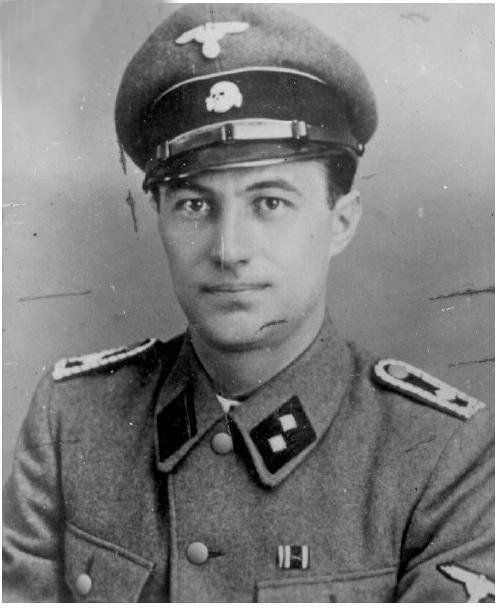 Bruno Kittel, an SS man who served in Lithuania.