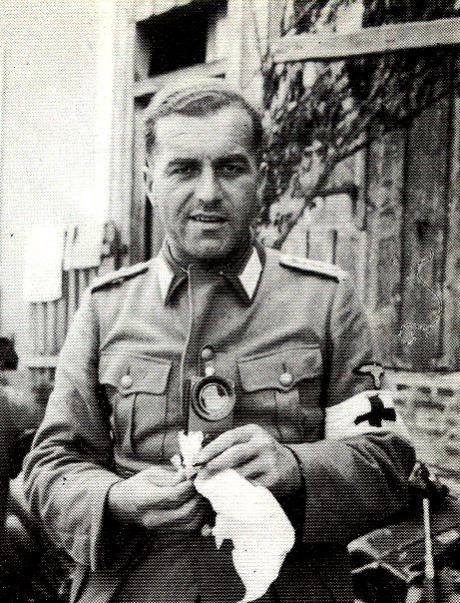 SS Polizei Truppenarz