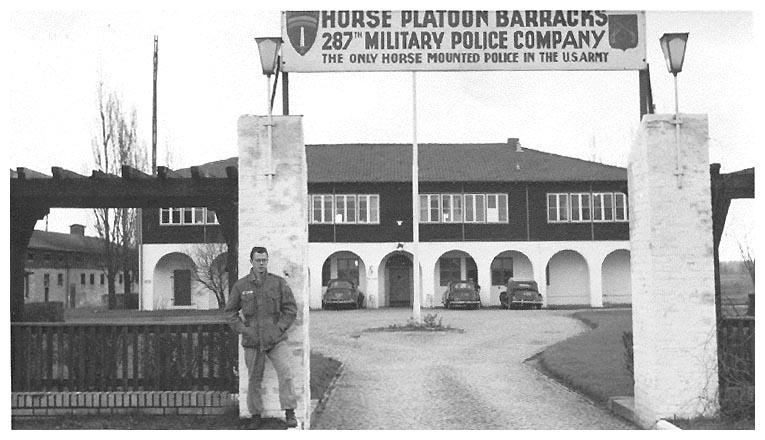 Horse Platoon 1955 Wuhrman