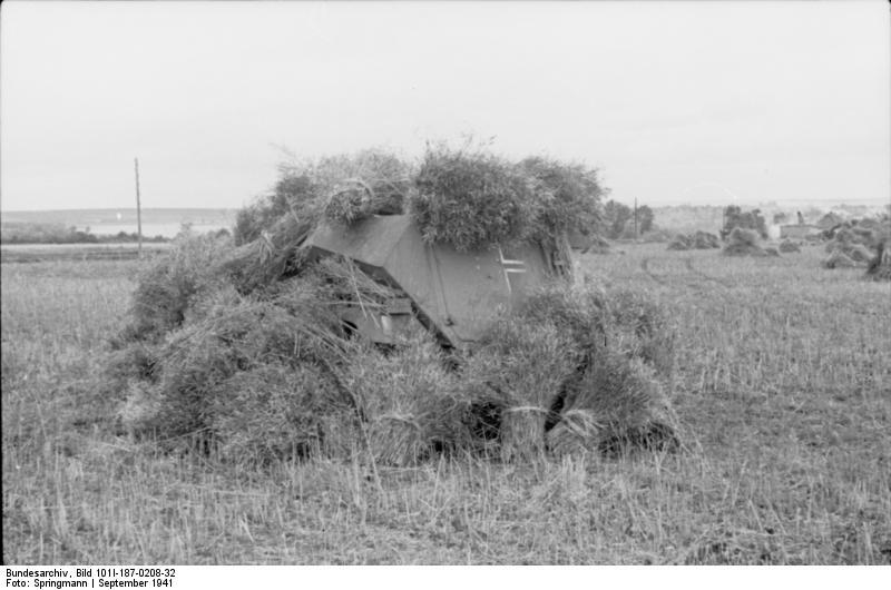 Bundesarchiv_Bild_101I-187-0208-32,_Russland,_getarnter_Schützenpanzer_auf_Feld