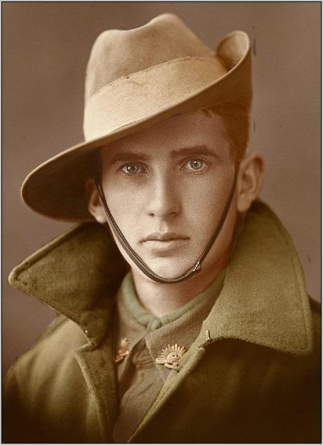 aussie soldier hat