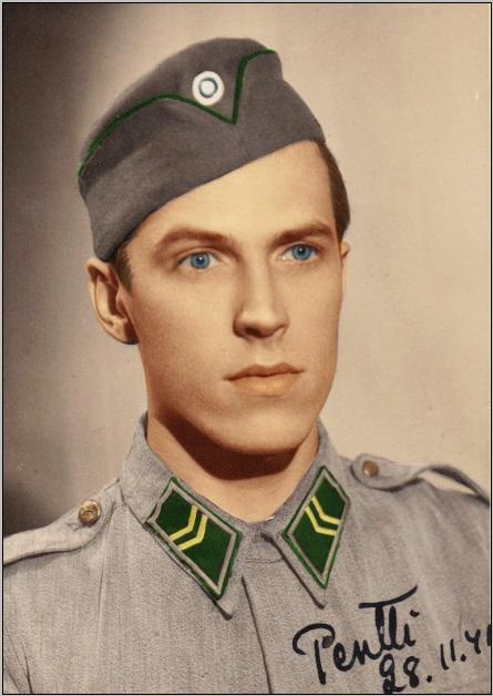 Finnisch soldier 1941