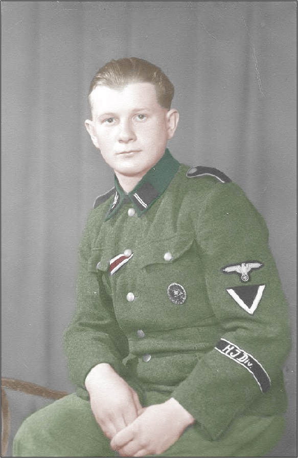 Unusual divisional armband of young SS-Sturmmann of the Hitlerjugend