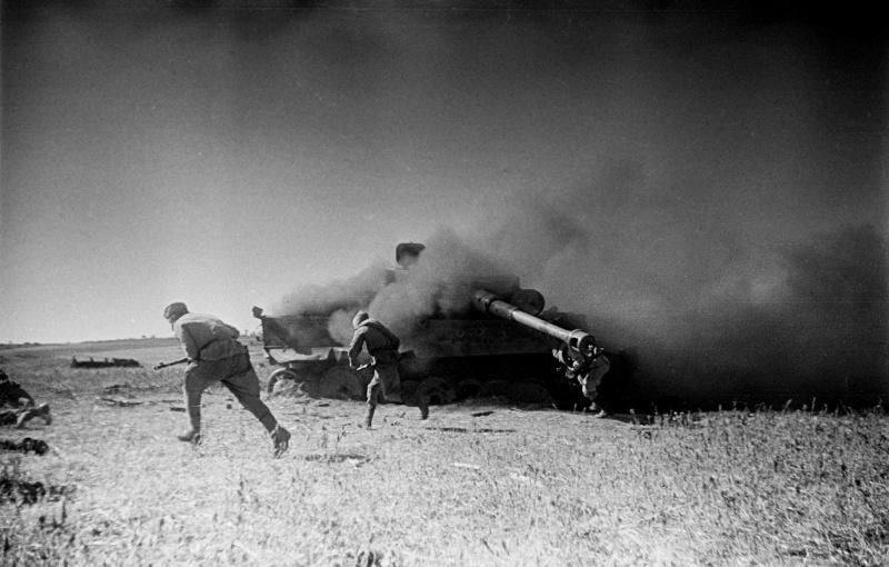 Расстрел командира 38-й стрелковой дивизии. 1944 г.