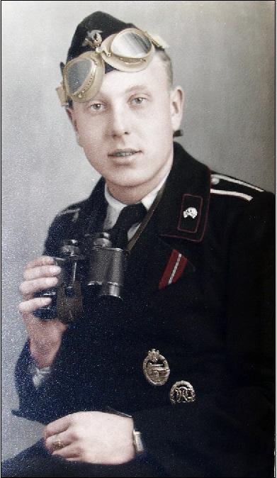 Unteroffizier Gerhard Holzweiß Panzeraufklärungstruppe2a