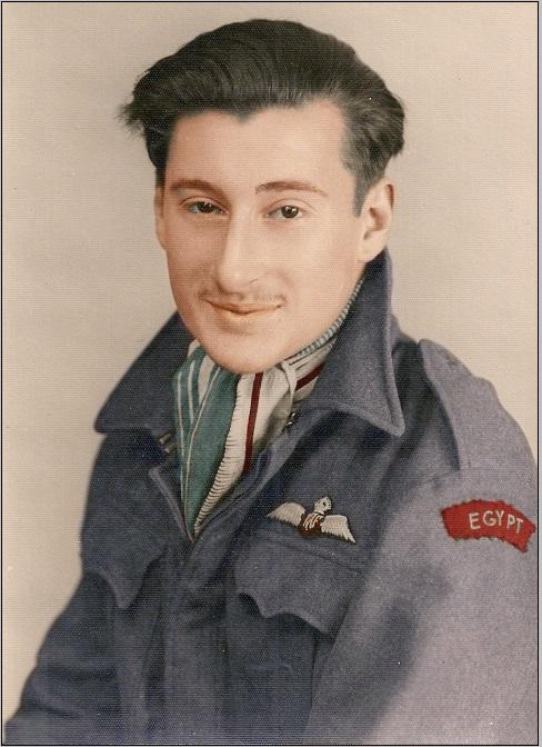 RAF pilot egypt