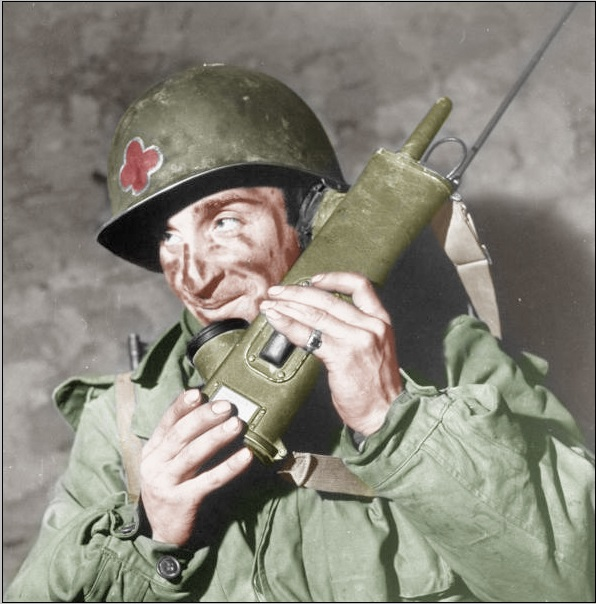 US Army BC-611-F Walkie Talkie Radio