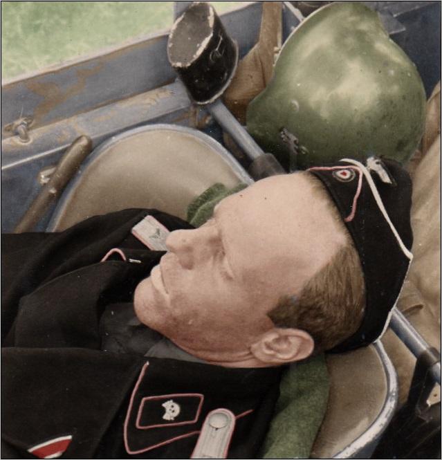 Panzerman in schlaf