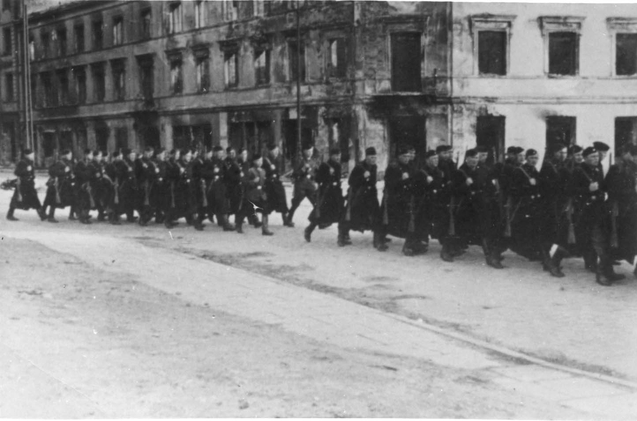 Warsaw, Poland, 1943