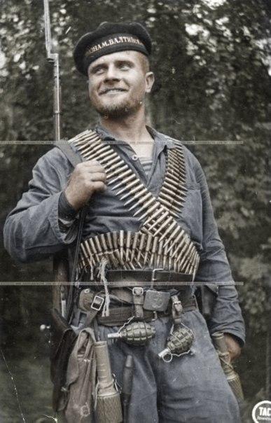 Segunda Guerra Mundial Frente Oriental fotos coloridas