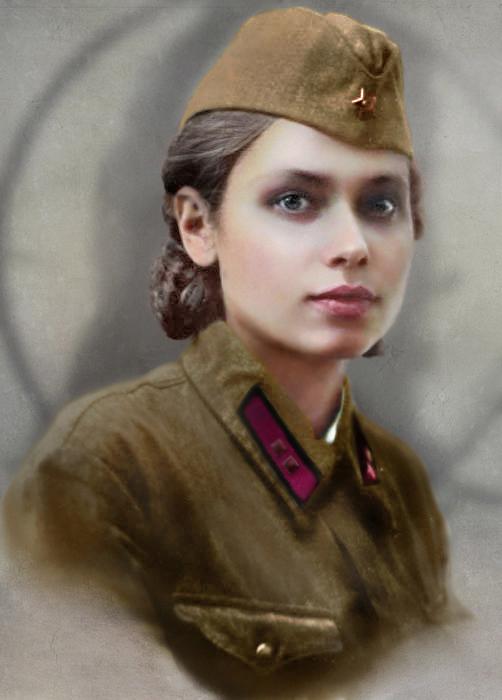 Униформа Второй мировой в цвете 5.   ( 42 фото )
