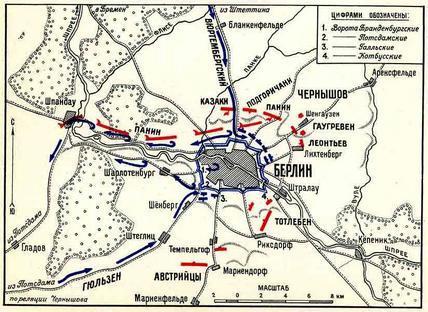 Как немцы откупились через еврея. Русские в Берлине 1760 г.