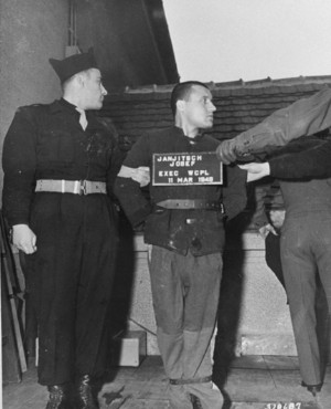 Convicted murderer Josef Janjitsch is prepared for execution on the gallows of Landsberg prison-ww2shots.jpg