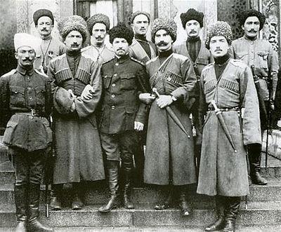 Мама анархия, Папа - Ростов... дикая дивизия Karachay_Soldiers.jpg