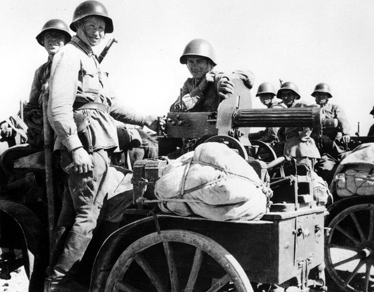 Наше наступление в Иране. 1941 г.