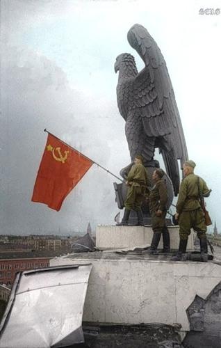 Американец в Берлине. 1945 г.