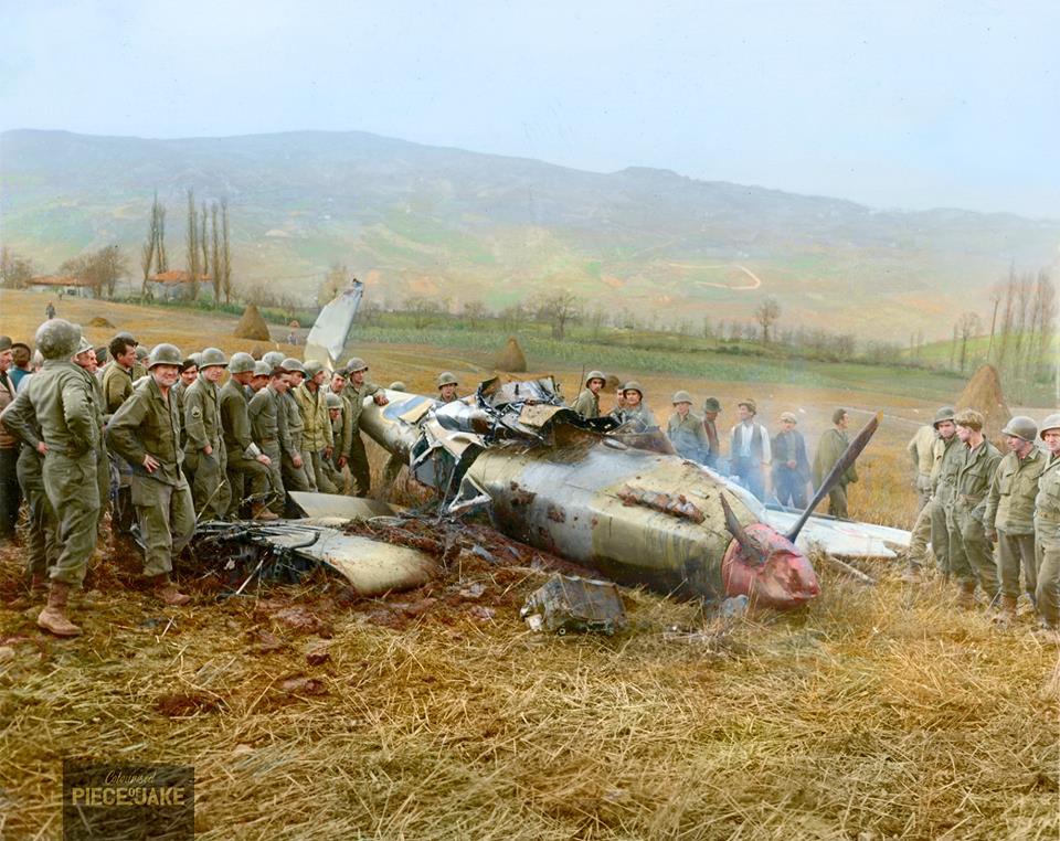 Авиация Второй Мировой в цвете - 19.  ( 30 фото )