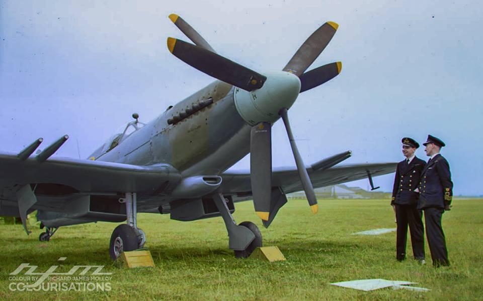 Авиация Второй Мировой в цвете - 20.  ( 25 фото )