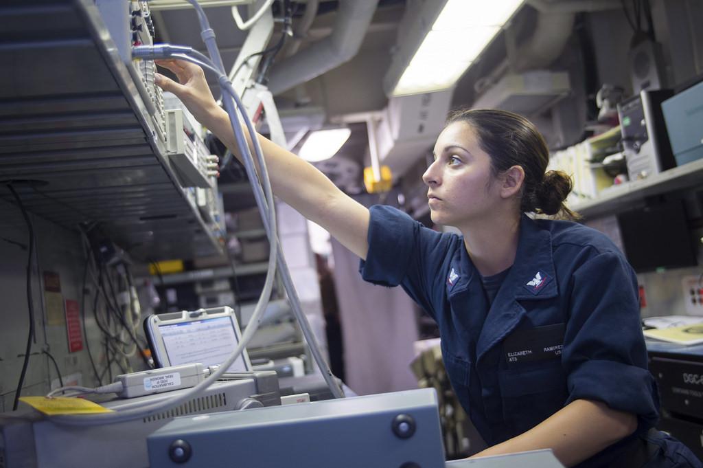 Женская армия и флот США. ( 50 фото ) 29808723868_5e3d9c30d6_b.jpg