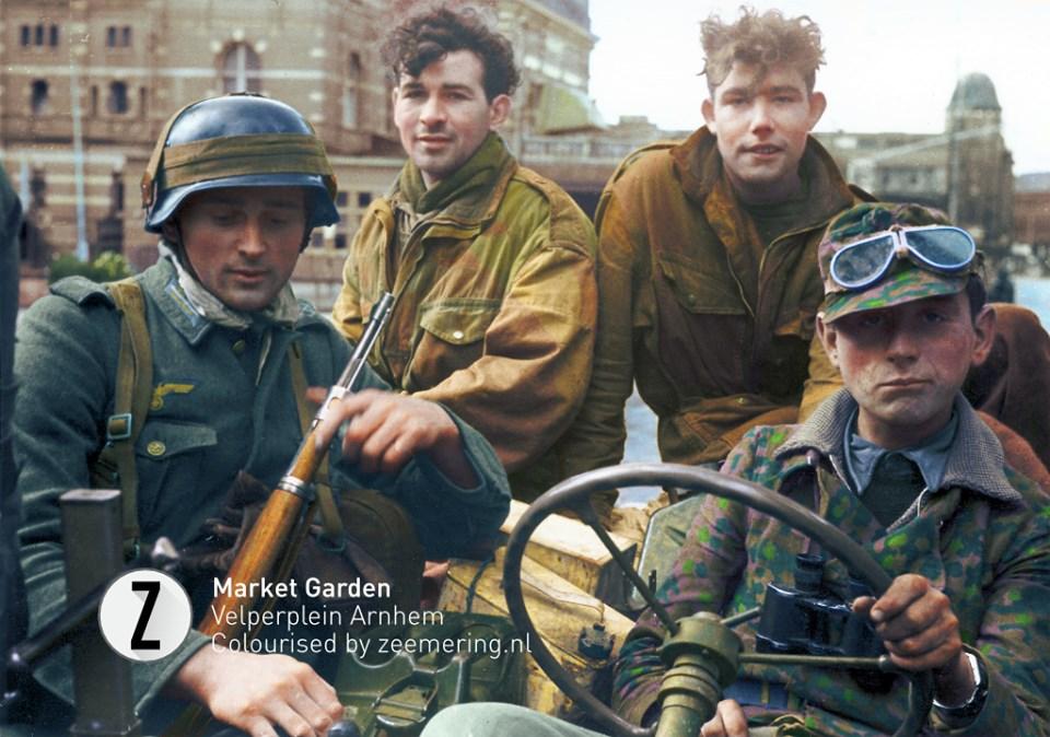 Война в Голландии 1940 и 1944-45 г. в цвете.  ( 30 фото )