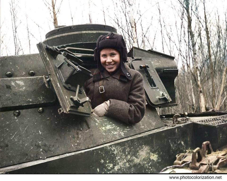 Панцерваффе против советских танкистов. ( 20 фото )