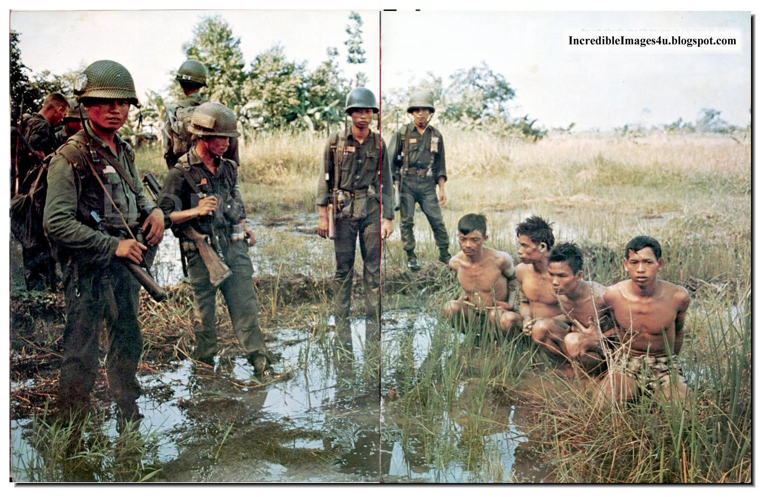Армия Южного Вьетнама против партизан. ( 55 цвет. фото ) 18+
