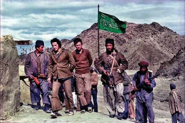 Война в Афганистане. Моджахеды против афганской армии. ( 40 цвет.фото )