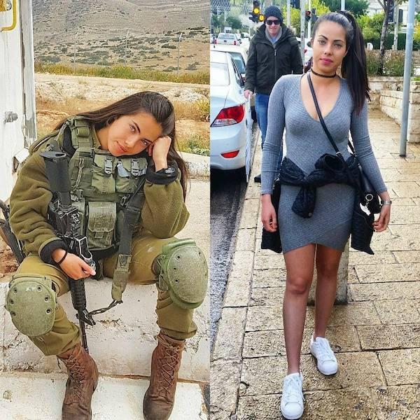 Женская армия и полиция будущего. ( 40 фото )